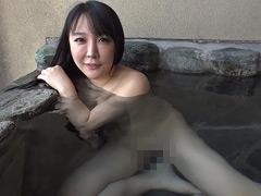 【エロ動画】スケベ女とのエロエロ温泉デート 羽生ありさのエロ画像