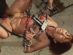 【エロ動画】Ma●ko Device Bondage4 鉄拘束マ○コ拷問 波多野結衣のエロ画像