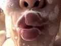 デカ舌美女・小峰みこ 降り注ぐ唾液の雨と濃密鼻フェラ 小峰みこ