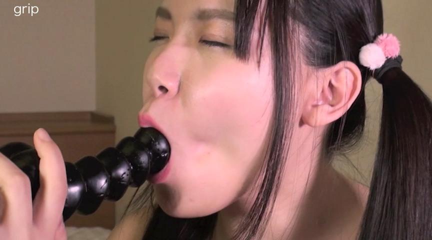 63ミリ長舌姫の口腔と特濃唾液の顔舐め の画像3