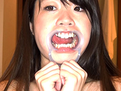 口腔:女子大生ベロ&口腔定期健康淫診
