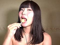 口腔:素人OLの咀嚼の音色に癒される午後◎咀嚼とフェラの音