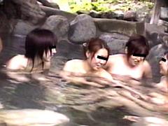 美女限定裸祭り! 露天・浴場・脱衣所盗撮