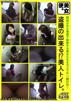 盗撮の出来る!?美人トイレ。