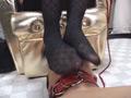 素人女王様のブーツでえさをもらい喜ぶマゾ犬 5