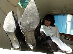 フェチ:女性専用履き潰し靴収集家4