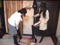 可愛い航空専門学生二人の臭いブーツと黒パンスト踏み