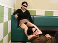美人病院管理栄養士さんの仕事後の臭いパンストと生足