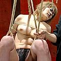 乱田舞の緊縛指南(上級編)