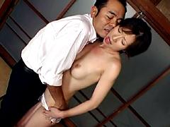 【エロ動画】人妻官能劇場 犯された白い肌 白鳥美鈴の人妻・熟女エロ画像