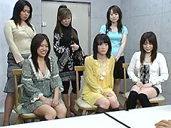 【エロ動画】母娘羞恥オーディションのエロ画像