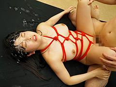 ぶっかけ:ぶっかけられた巨乳看護師  赤渕蓮