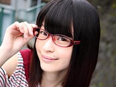 【エロ動画】メガネ腐女子の呆れたマゾ妄想 舞園かりんのエロ画像