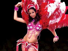 【エロ動画】サンバ大会で優勝したラテンGALがAVデビューのエロ画像