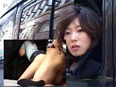 顔は銀座 カラダは車中!!