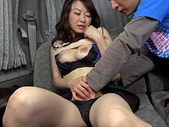 【エロ動画】実在する無垢な熟女の恥じらいEXPRESSのエロ画像
