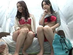 【エロ動画】仲良し母娘ナンパ 蒲田編のエロ画像