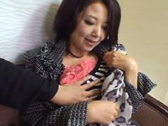 【エロ動画】年の差15歳以上の可愛い熟々おばさんをゲット DXの人妻・熟女エロ画像