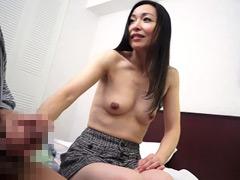 熟女が恥らうセンズリ鑑賞7