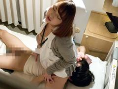 【エロ動画】夜勤中の人妻看護師覗き6のエロ画像