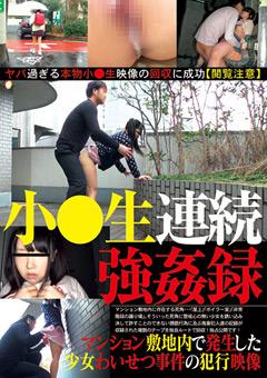 「マンション敷地内で発生した少女わいせつ事件の犯行映像」のパッケージ画像