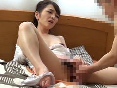 【エロ動画】人妻のショ○誘惑のエロ画像