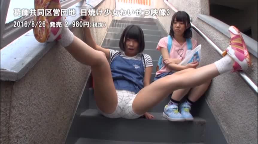 葛飾共同区営団地 日焼け少女わいせつ映像3 -