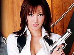 【エロ動画】麻薬捜査官 ヤク漬け膣痙攣 むらさき真珠のエロ画像
