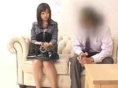 【エロ動画】ウブな人妻企画 生まれて初めての風俗面接12の人妻・熟女エロ画像