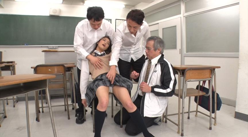 鬼畜たちに輪姦される放課後の監禁教室 狙われた女子校生 涼宮のん の画像15