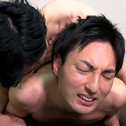 イケメン・ノンケ同士の欲情セクロス
