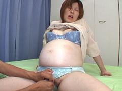 妊婦の秘密部屋 矢部温子 妊娠8ヶ月