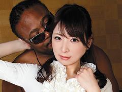 【エロ動画】黒人×素人奥さんのエロ画像
