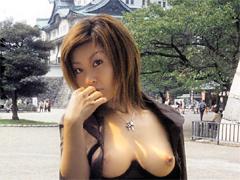 [露出動画]露出羞恥旅行 保坂優海-画像1