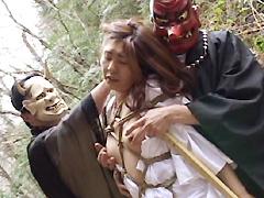 【エロ動画】熟女折檻寺 四のエロ画像
