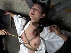 【エロ動画】熟女折檻寺 八のエロ画像