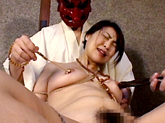 【エロ動画】熟女折檻寺 十四のエロ画像