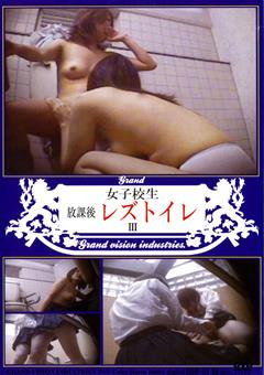 女子校生 放課後レズトイレ3
