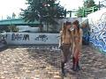 シロウト野外過激露出 レズビアン調教記録 8