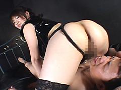 【エロ動画】巨尻でドSなお姉さんのM性感3のエロ画像