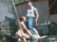 温泉で我慢できずに放尿脱糞!旅館温泉