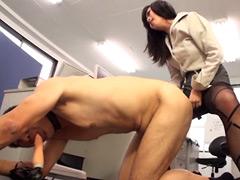 キャリア系OL M男社員スパルタ調教2