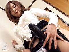 【エロ動画】ペニバン美人教師DX 4時間 総集編のエロ画像