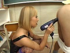 【大島優子】激似AV女優:アナル調教された後に強制センズリ発射するM男たち