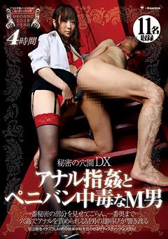 【雨宮琴音動画】秘密の穴園DX-アナル指姦とペニバン中毒なM男-4時間-M男