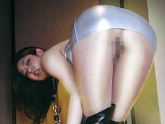細川まりクンニ動画|エロ脚デカ尻な若妻にパンスト履かせて中出し!