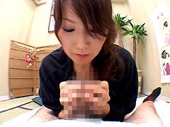 【エロ動画】熟れた女の仮性包茎ベロ皮いじり 其の弐のエロ画像