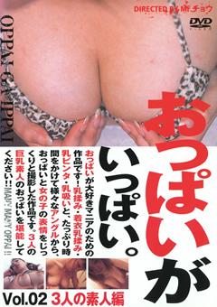 おっぱいがいっぱい。 Vol.02 3人の素人編