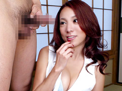 【エロ動画】美熟女センズリ鑑賞2の人妻・熟女エロ画像