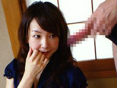 【エロ動画】美熟女センズリ鑑賞のエロ画像